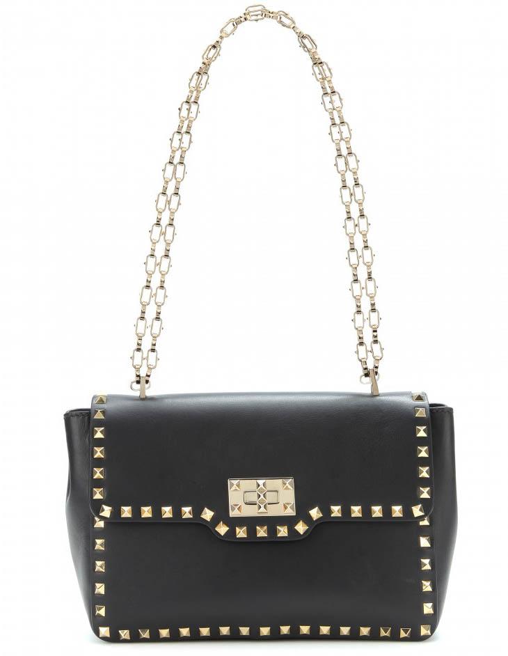 Valentino Rockstud Chain Strap Shoulder Bag