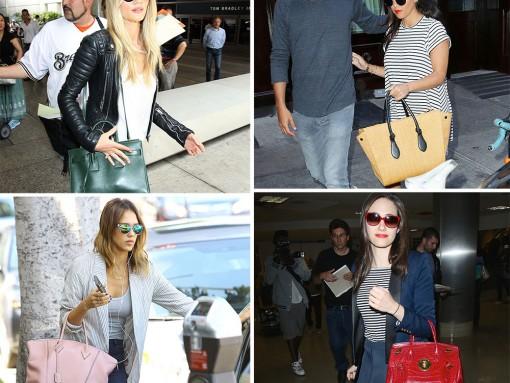The 10 Best Celebrity Bag Looks of Summer 2014