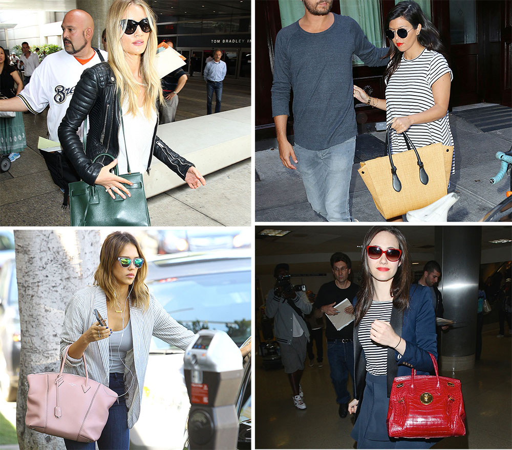 10 Best Celebrity Handbags Summer 2014
