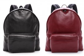 Man Bag Monday: Carven Leather Backpack