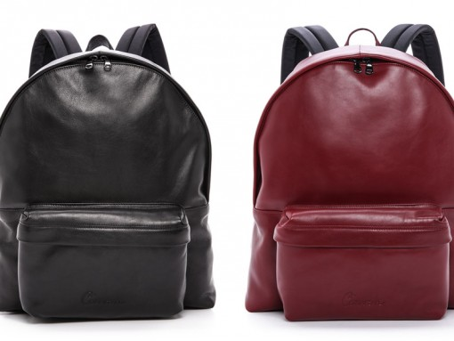 Carven Leather Backpacks