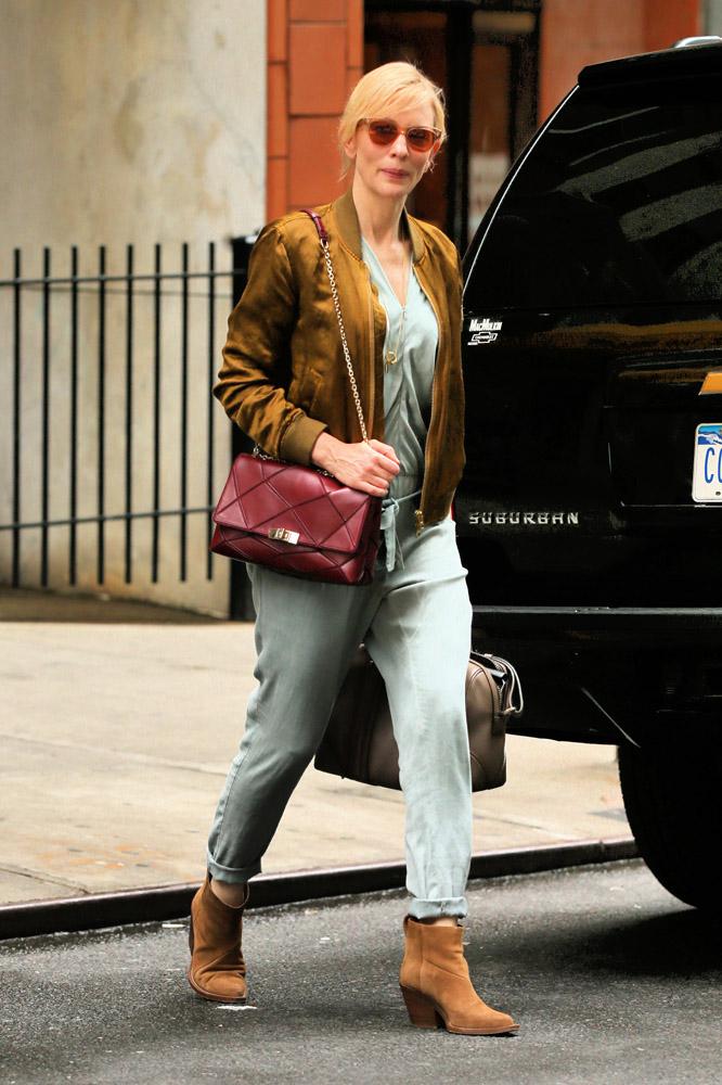 7910dd80498e Cate Blanchett Roger Vivier Prismick Shoulder Bag Givenchy Lucrezia Satchel  2