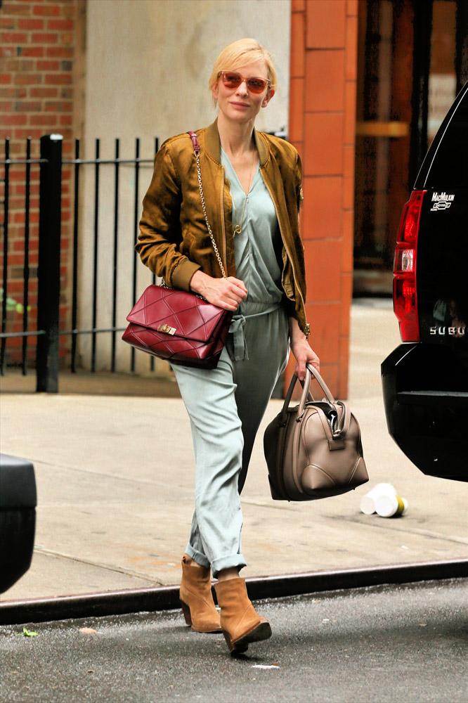 Cate Blanchett Roger Vivier Prismick Shoulder Bag Givenchy Lucrezia Satchel 3