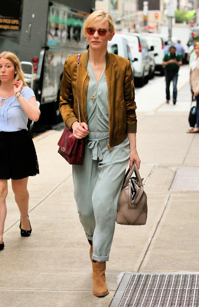 Cate Blanchett Roger Vivier Prismick Shoulder Bag Givenchy Lucrezia Satchel 4