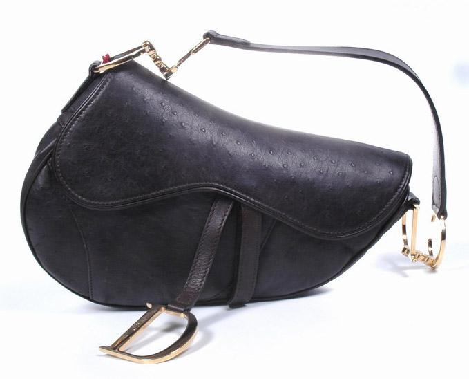 aa6be2232164 Christian Dior Ostrich Saddle Bag - PurseBlog
