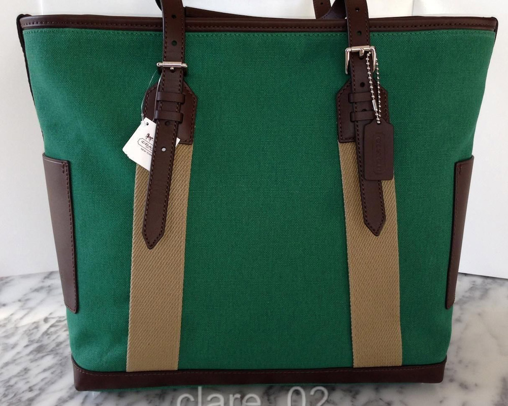 Coach Bleecker Canvas Tote