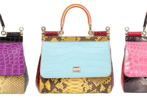 Dolce & Gabbana Debuts Three One-of-a-Kind Exotic Patchwork Bags
