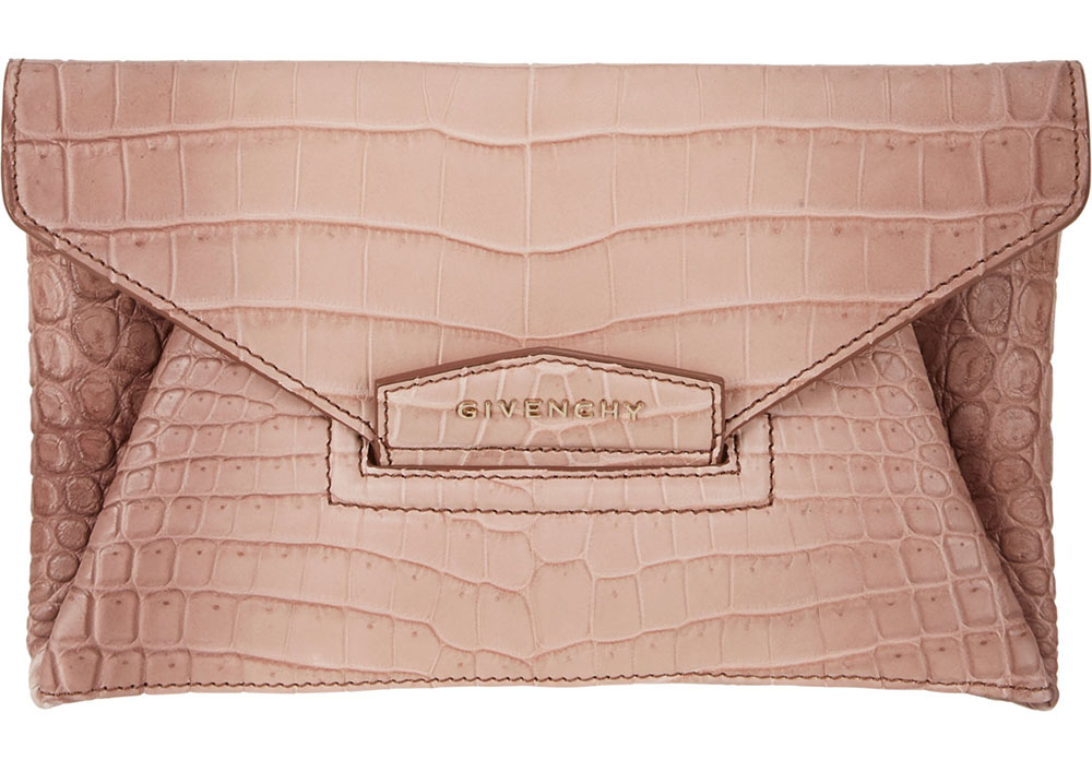 Givenchy Crocodile Antigona Clutch