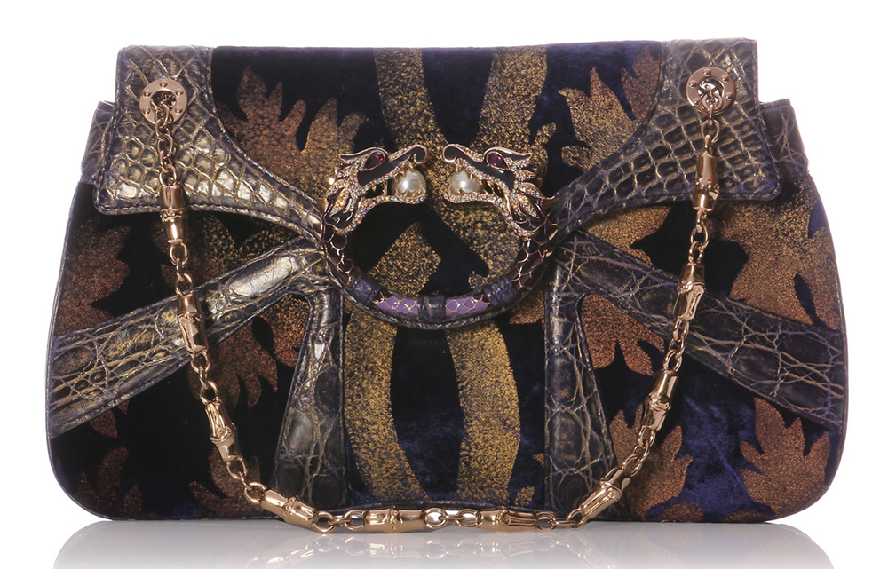 Gucci Dragon Evening Bag