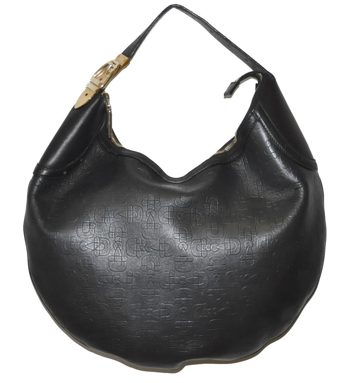 Gucci Horsebit Embossed Hobo