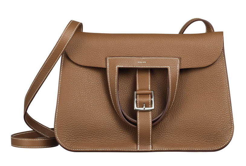 Buzz Worthy The Brand New Hermès Halzan Bag