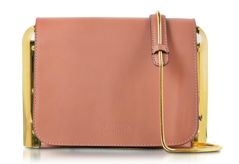 Jean Paul Gaultier Leather Shoulder Bag