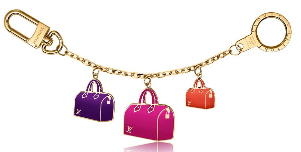 Louis Vuitton Iconic Speedy Bag Charm Chain