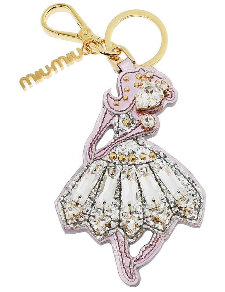 Miu Miu Ballerina Key Ring