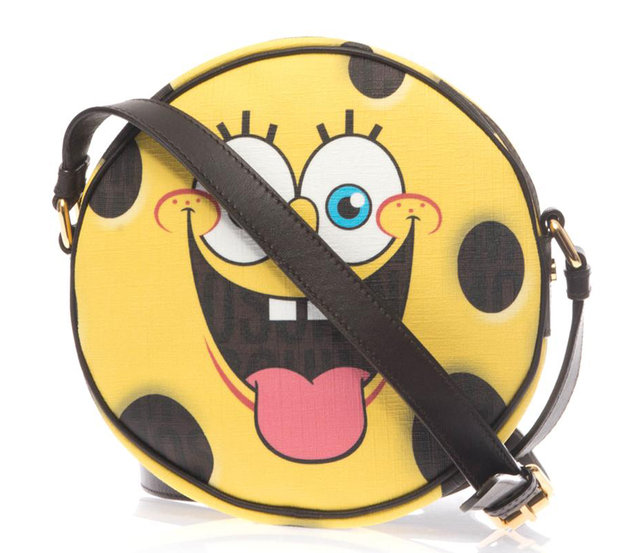 Moschino Spongebob Leather Crossbody Bag