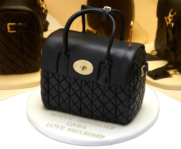 Mulberry Got Cara Delevingne A Handbag Cake For Her Birthday
