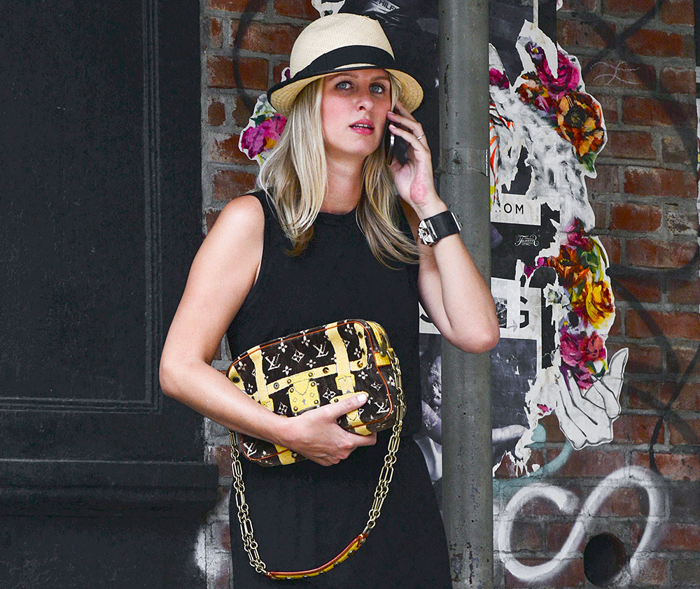 dab020bf5e40 Nicky Hilton Pulls a Seasons-Old Louis Vuitton Bag Out of Her Closet ...