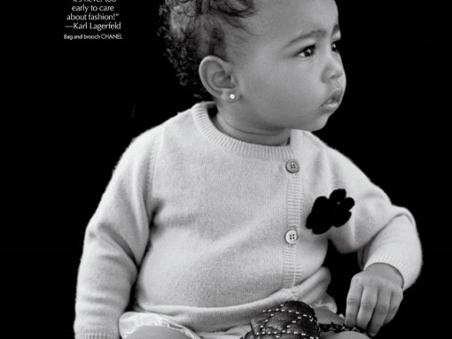 Kim Kardashian's Daughter Poses With Chanel Bag in CR Fashion Book