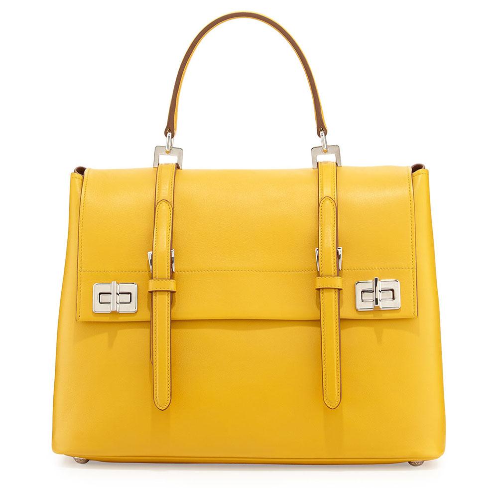 Prada Yellow Handbag