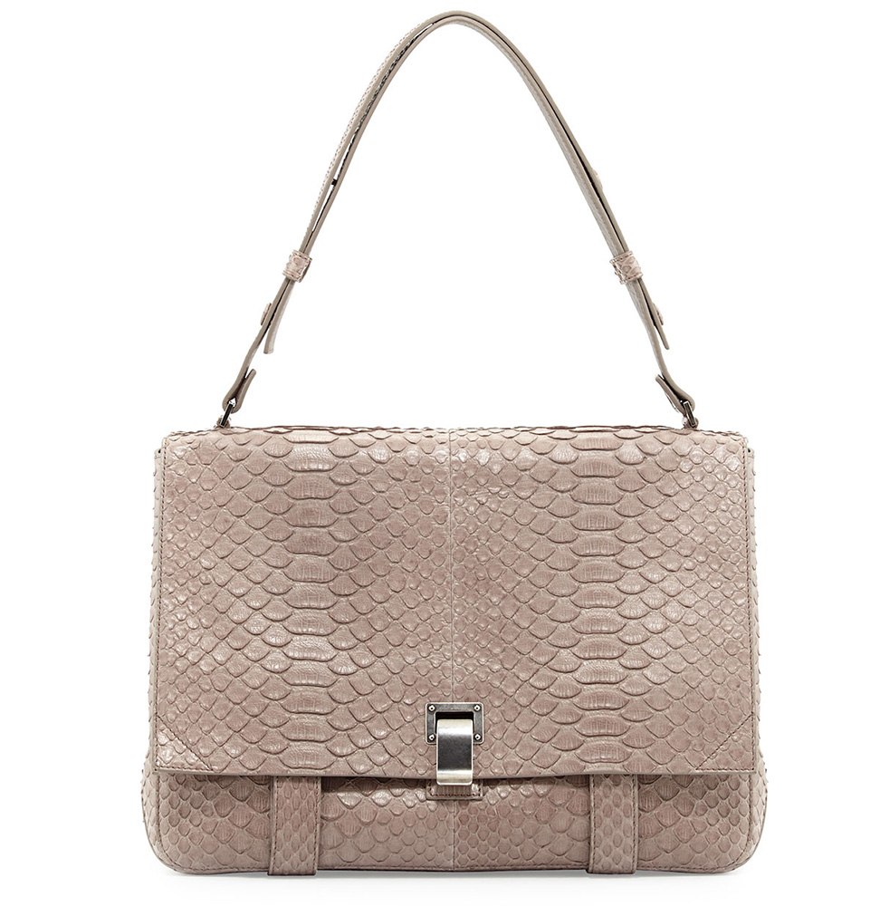 Proenza Schouler PS Courier Python Bag
