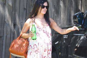 Rachel Bilson Looks Casual With an Alexander Wang Bag