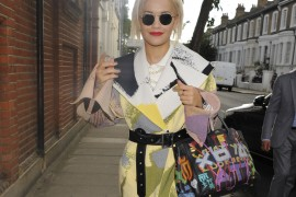 Rita Ora is the Latest Celeb to Graffiti Her Birkin
