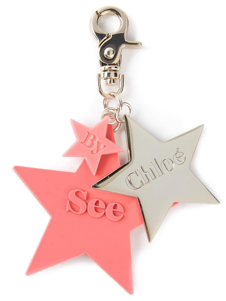 See by Chloe Star Key Ring