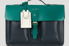 Man Bag Monday: Ted Baker Harlemm Mixed Leather Briefcase
