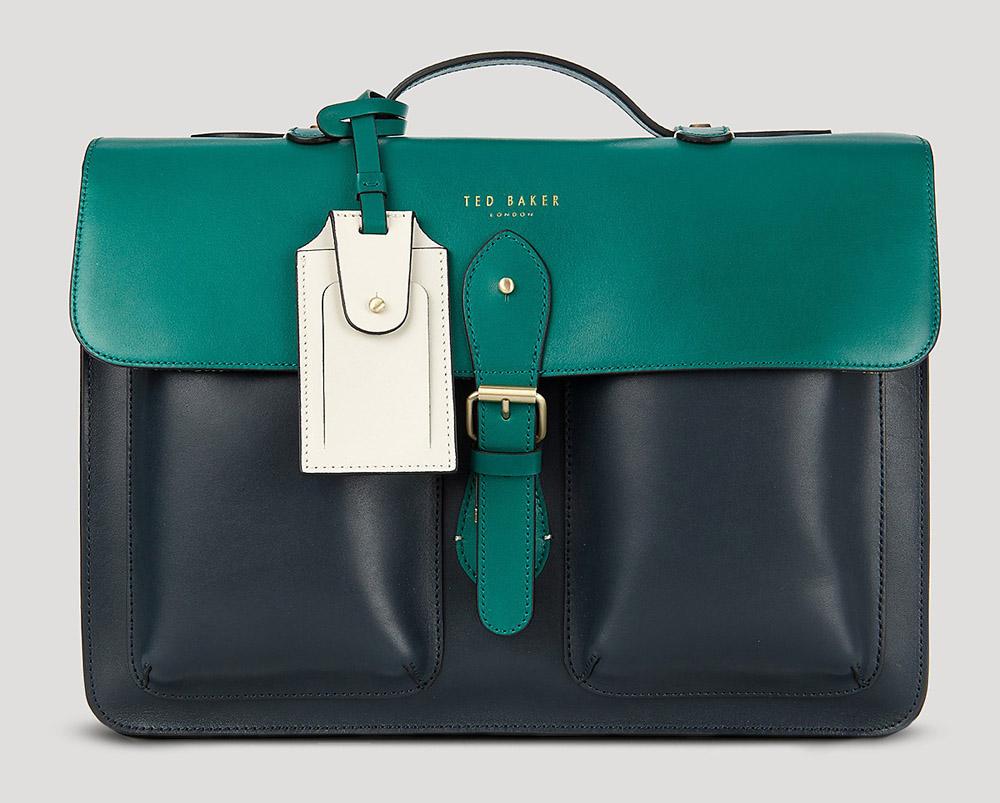732f1ff25ce74c Man Bag Monday  Ted Baker Harlemm Mixed Leather Briefcase - PurseBlog