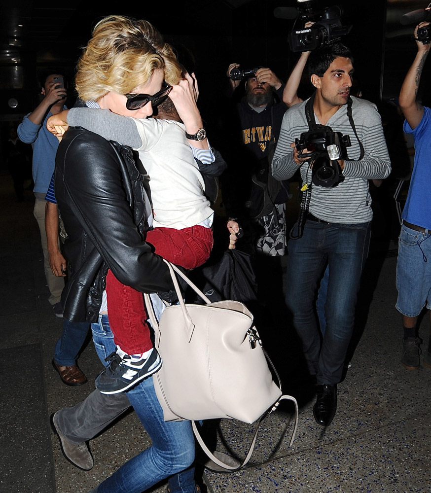 The Many Bags of Celebrities at LAX-11