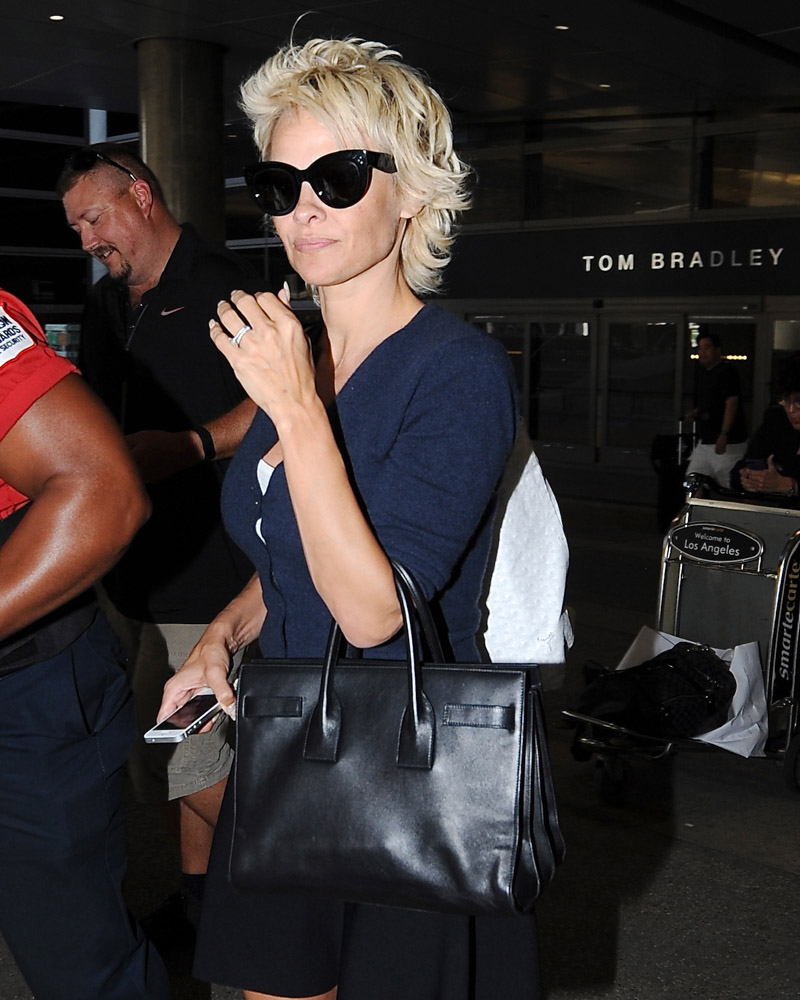The Many Bags of Celebrities at LAX-12