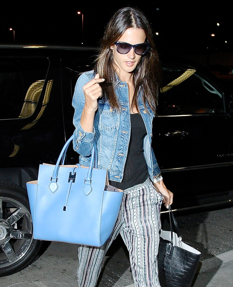 The Many Bags of Celebrities at LAX-14
