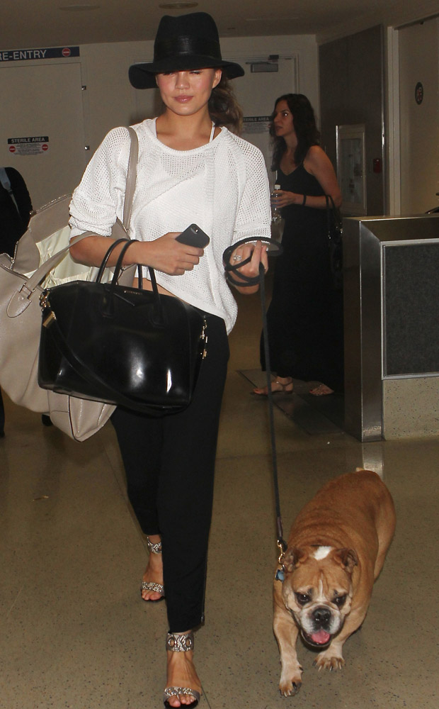 The Many Bags of Celebrities at LAX-15