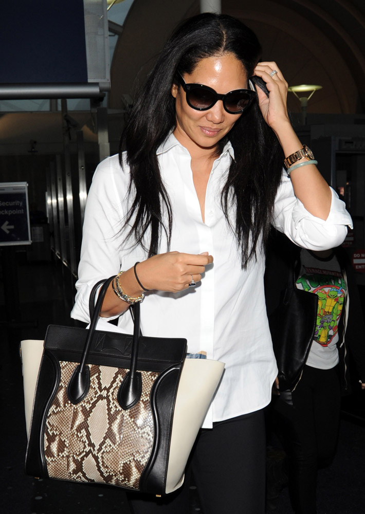 The Many Bags of Celebrities at LAX-16