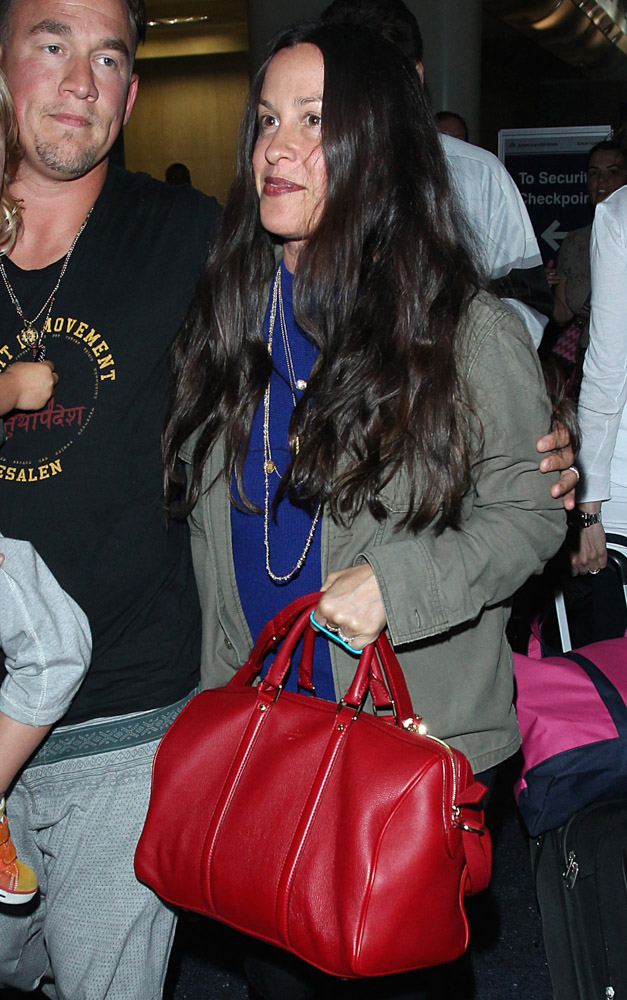 The Many Bags of Celebrities at LAX-17