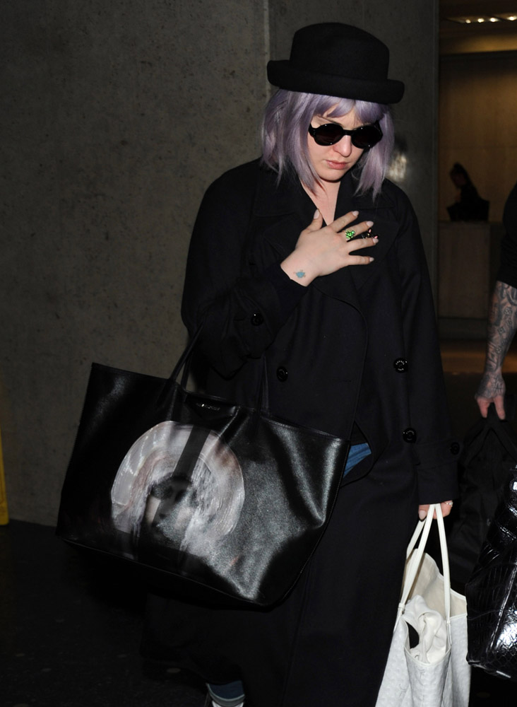 The Many Bags of Celebrities at LAX-2