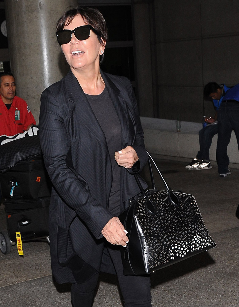 The Many Bags of Celebrities at LAX-21