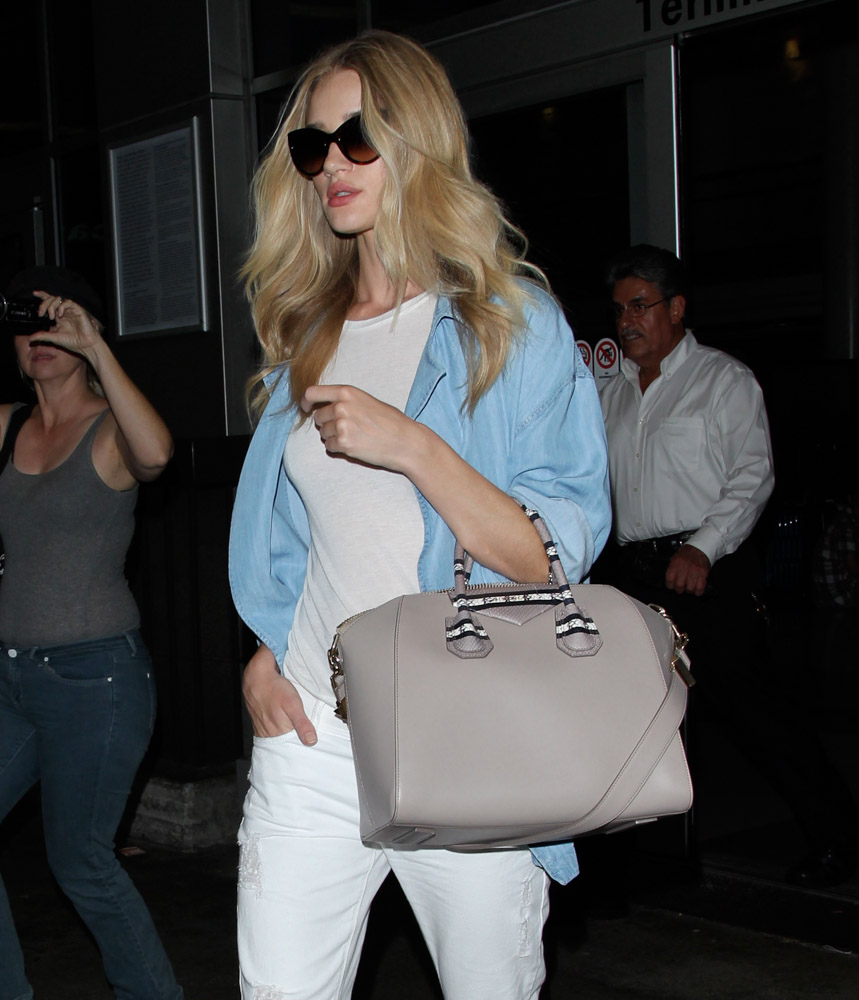 The Many Bags of Celebrities at LAX-24