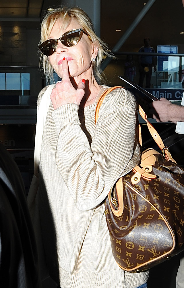 The Many Bags of Celebrities at LAX-25