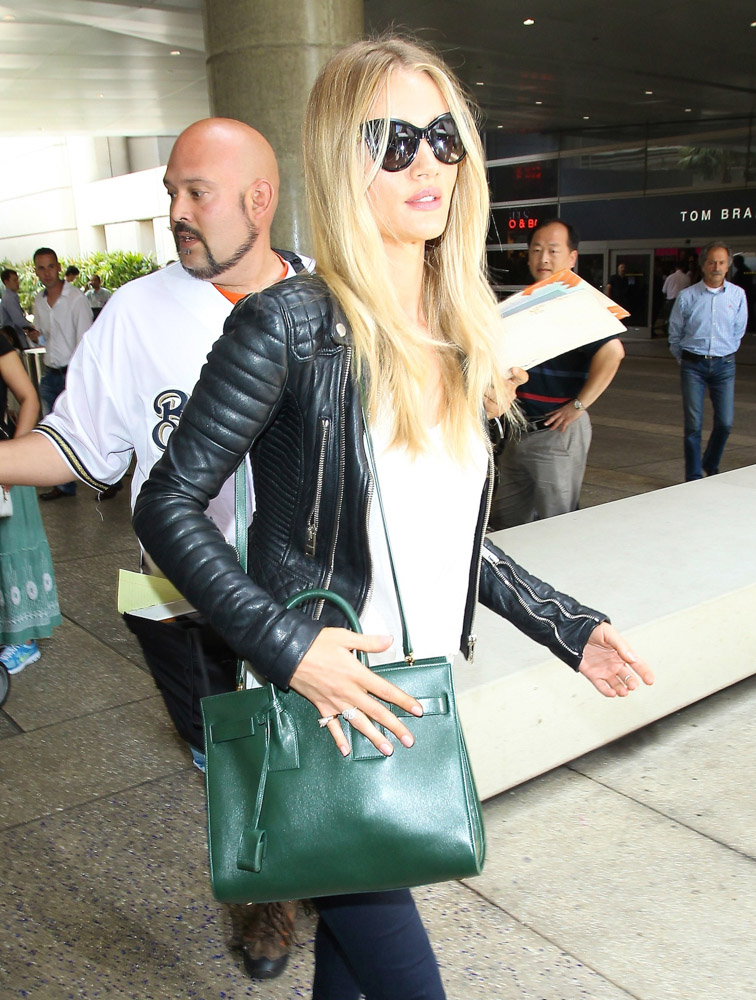The Many Bags of Celebrities at LAX-27
