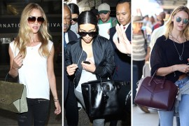 50 Celebrities and the Bags They Carried to Fly out of LAX This Summer