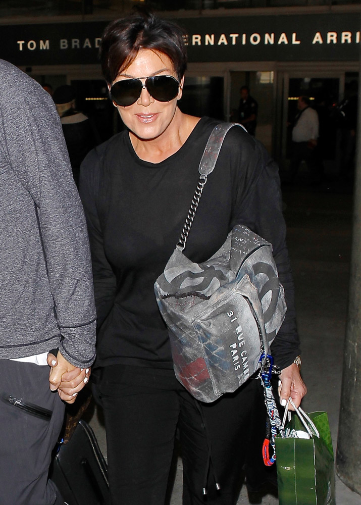 The Many Bags of Celebrities at LAX-3