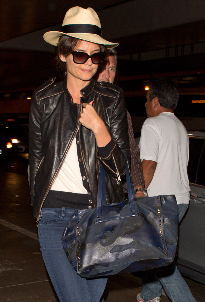 50 Celebrities And The Bags They Carried To Fly Out Of Lax