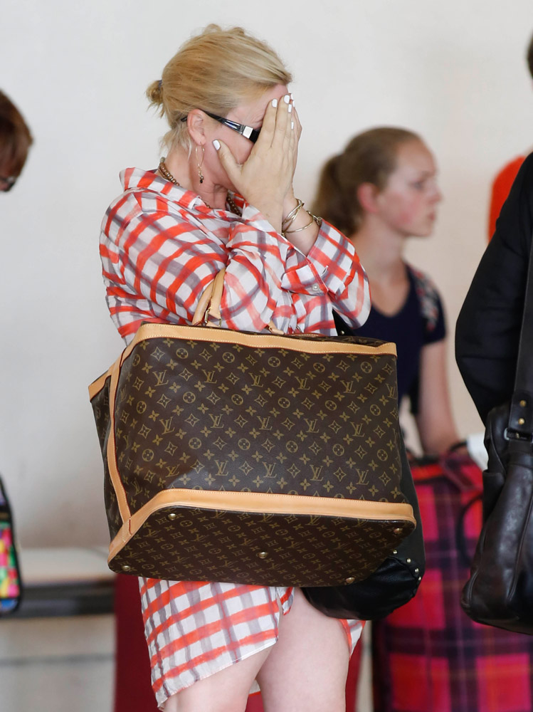 The Many Bags of Celebrities at LAX-35