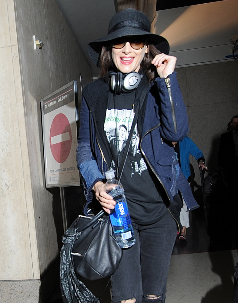 The Many Bags of Celebrities at LAX-36