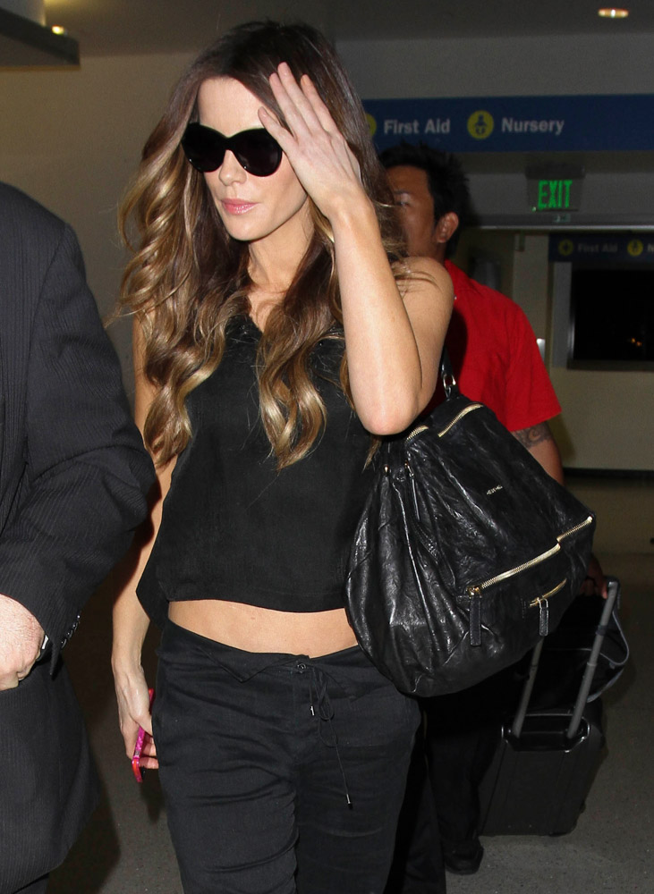 The Many Bags of Celebrities at LAX-37