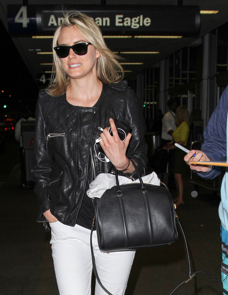 The Many Bags of Celebrities at LAX-38