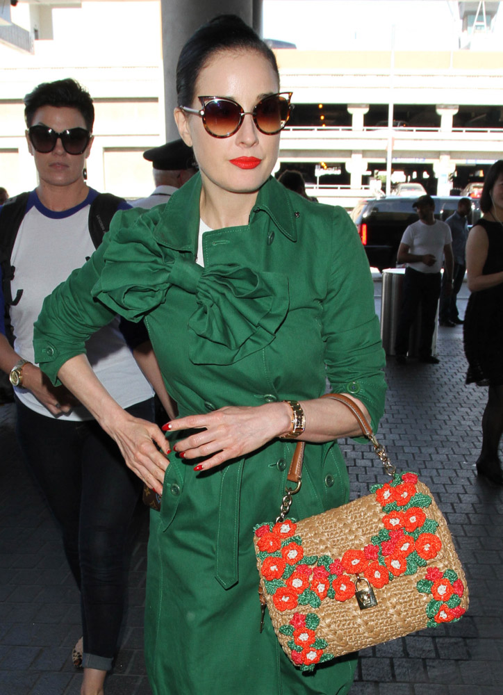 The Many Bags of Celebrities at LAX-39