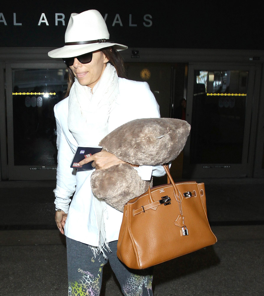 The Many Bags of Celebrities at LAX-40