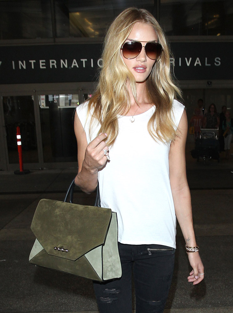 The Many Bags of Celebrities at LAX-44